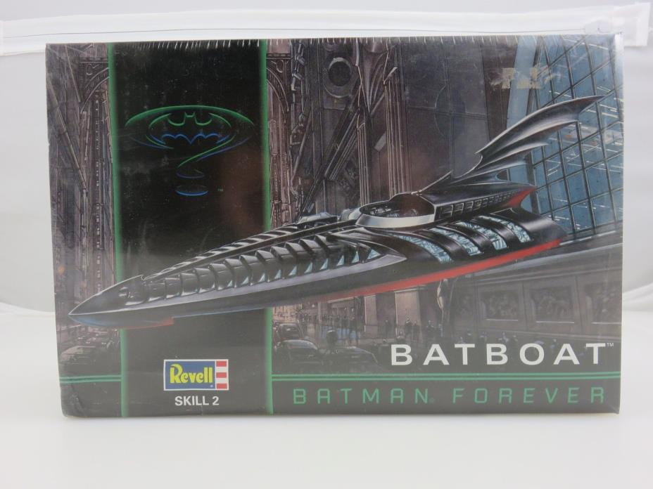 Revell Batman Forever BATBOAT 1/25 Scale Plastic Model Kit NEW SEALED 1995