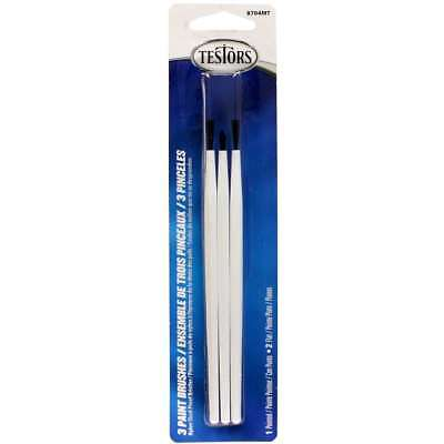 Paintbrushes 3/Pkg 2 Broad & 1 Fine 075611870410