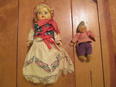 Vintage J.K. Koge Danish Celluloid Doll (12 Inches Tall)(Made In Denmark)