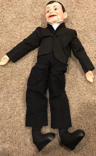 Vintage Charlie McCarthy Ventriloquist Doll Juro Novelty Co. Inc. 1977