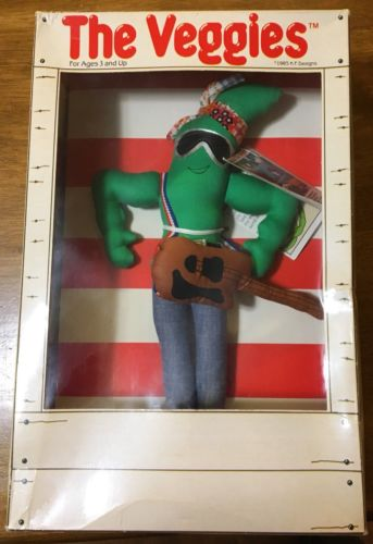 Veggies Bruce Stringbean Doll-In Original Box