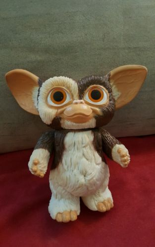 Gremlins - Vintage Gizmo (Gremlin) Plastic Doll - 1984 - Rare and Hard to Find