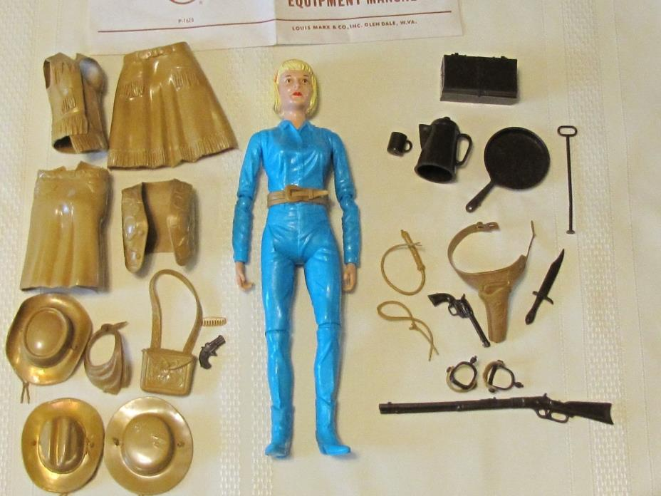 Marx 1965 Jane West Vintage Doll w/ Near All Accessories & Manual NM  (S)