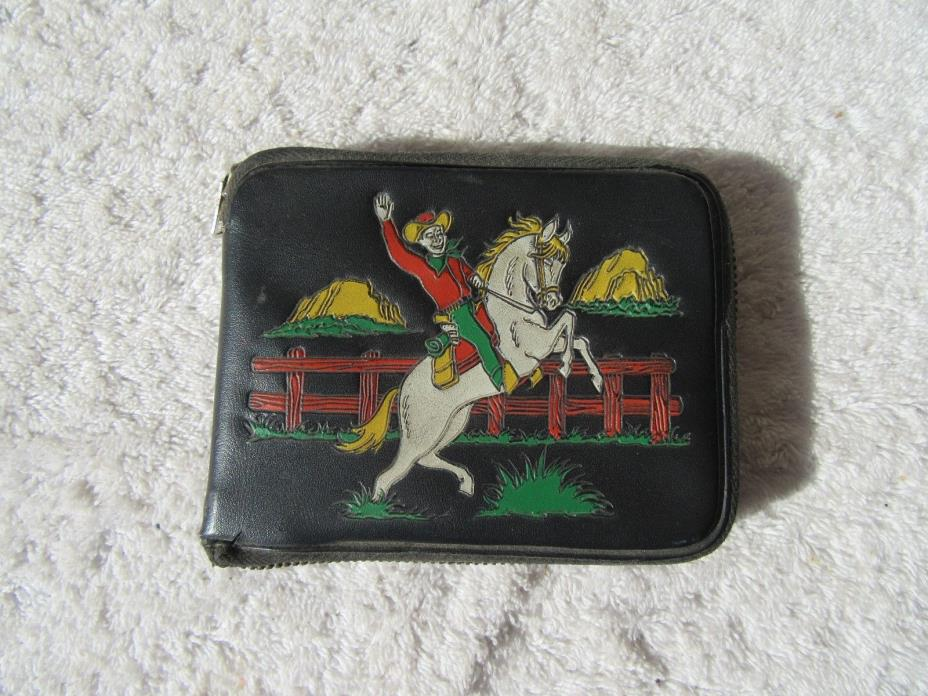 ROY ROGERS & TRIGGER VINTAGE WALLET MADE IN HONG KONG