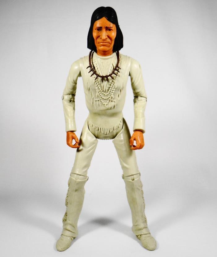Vintage Louis Marx Lone Ranger Tonto Action Figure 11.5