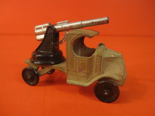 TOOTSIE TOY MACK TRUCK WITH CANNON