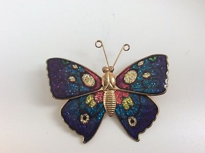 Colorful Butterfly Pin