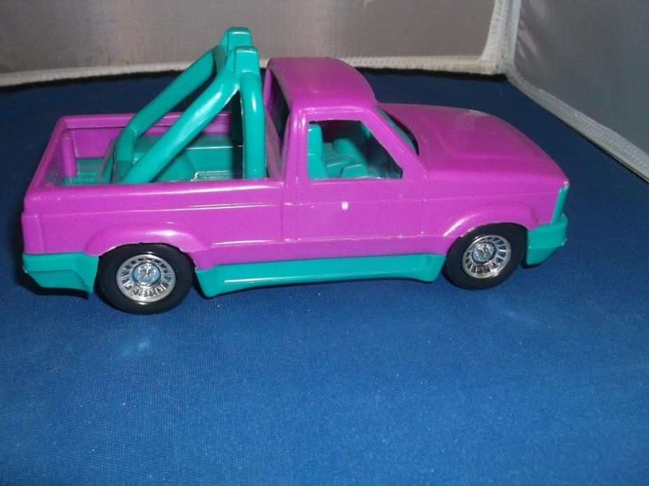 TOOTSIETOY PURPLE OFF-ROAD PICK UP TRUCK BAJA MADE IN USA, GREAT CONDITION