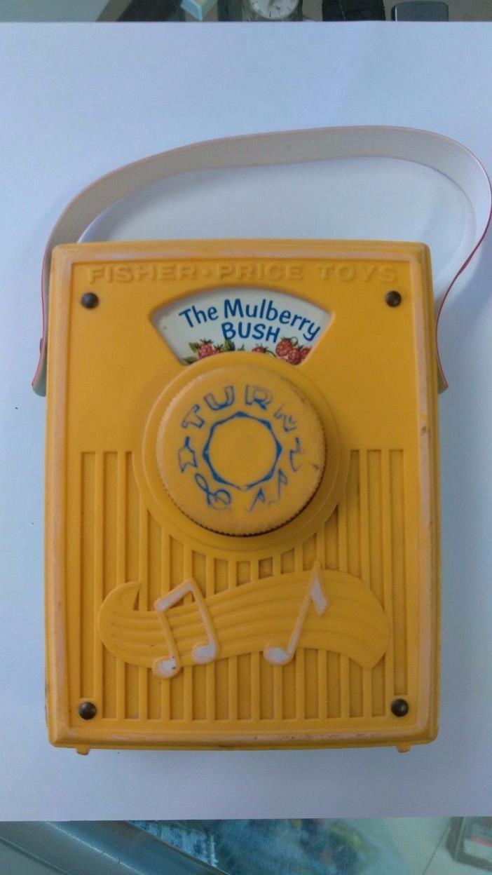 Vintage 70's Fisher Price Pocket Radio