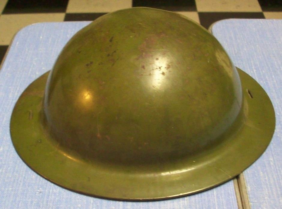Vintage Child's Steel Army Helmet