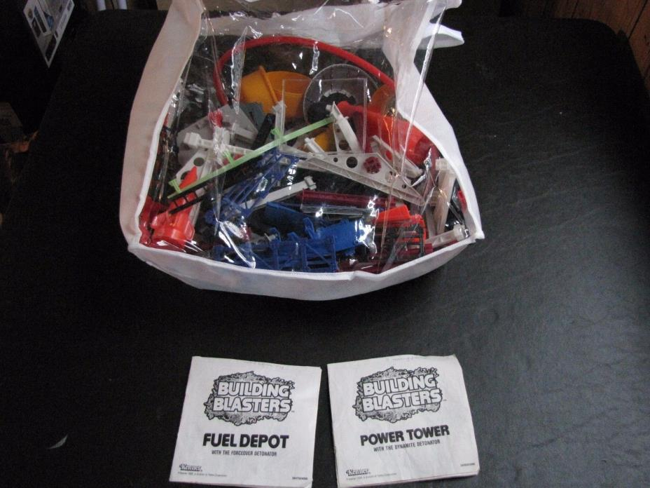 Kenner 1989 Building Blasters Power Tower / Fuel Depot - Rare