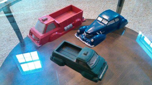 Lot of 3 Vintage Garrett Sales Co. Rubber Toys  L@@K