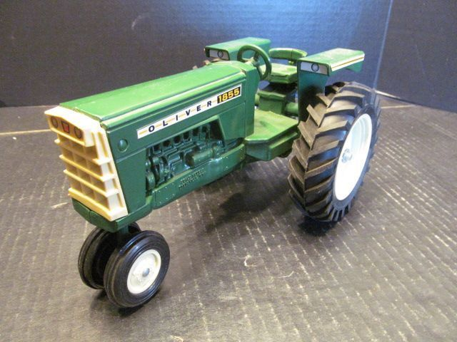 Scale Models Oliver 1855 Tractor Green 1/16 Diecast