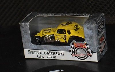 Vintage issue #42 Pete Corey Modified Legend by Nutmeg Ertl Coupe 1/64