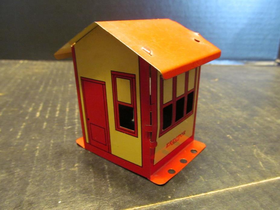 Gilbert Erector Set Building Shed Booth Vintage 3