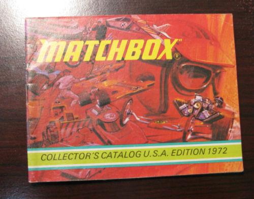 MATCHBOX COLLECTORS CATALOGUE U.S.A EDITION 1972