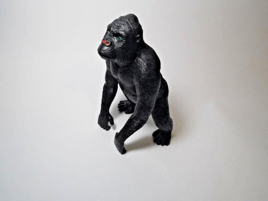 Vintage Imperial Plastic Toy Gorilla 6.5 inch Large