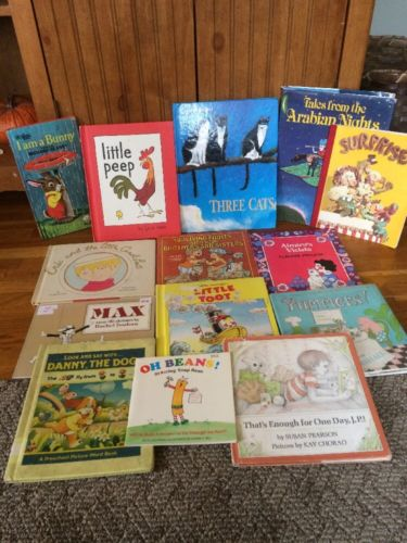 Lot Of Vintage Children's Books 1963+. Lot Of 14 Kids Books