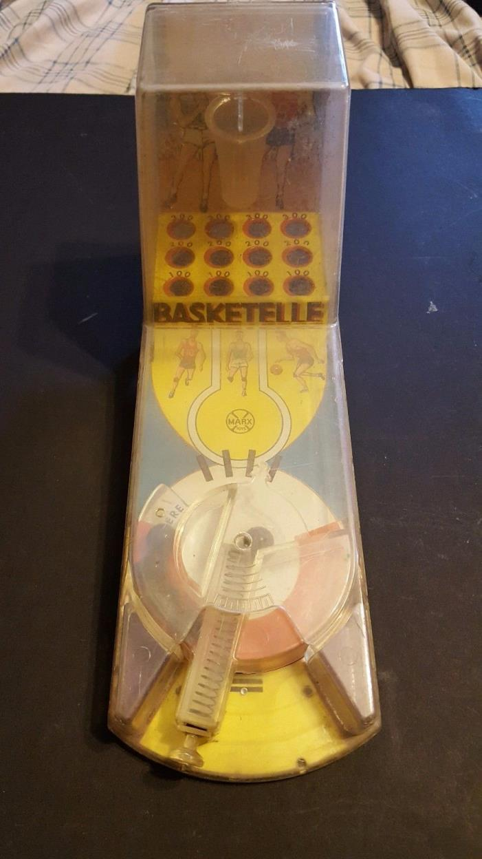 Vintage Louis Marx Basketelle game
