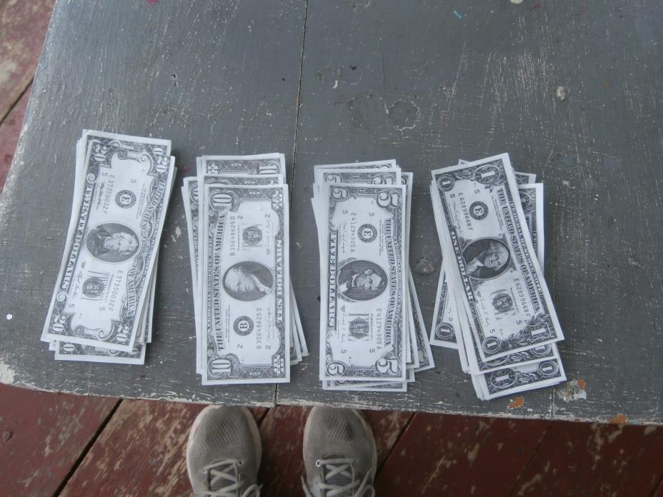 play paper money