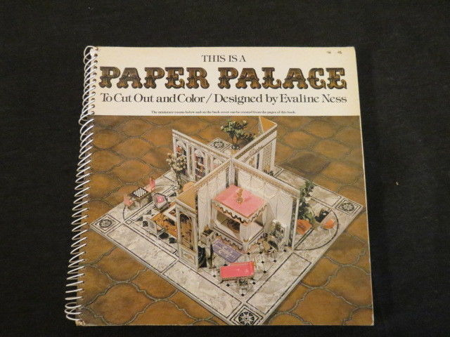 This is a Paper Palace to Cut Out and Color Evaline Ness