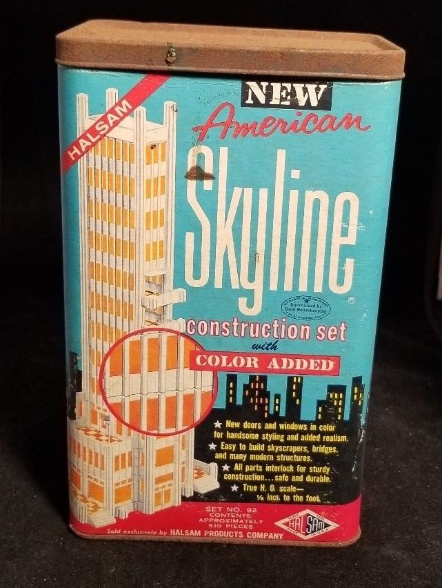 Halsam American Skyline Set Construction