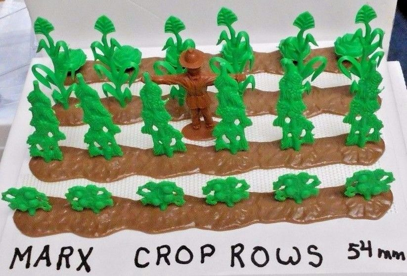 Marx 1/32 54mm (4) Crop Rows