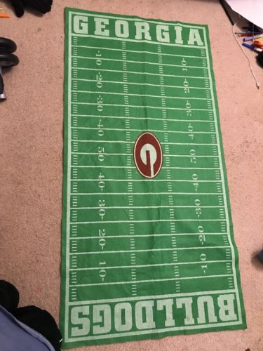 UGA Football Field Play Mat