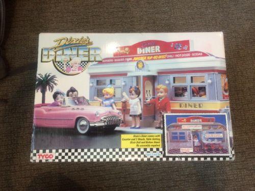 Tyco Dixie's Diner 1988 NIB