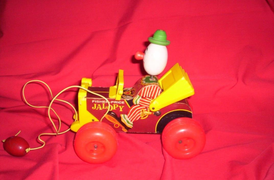Vintage Fisher Price pull toy,