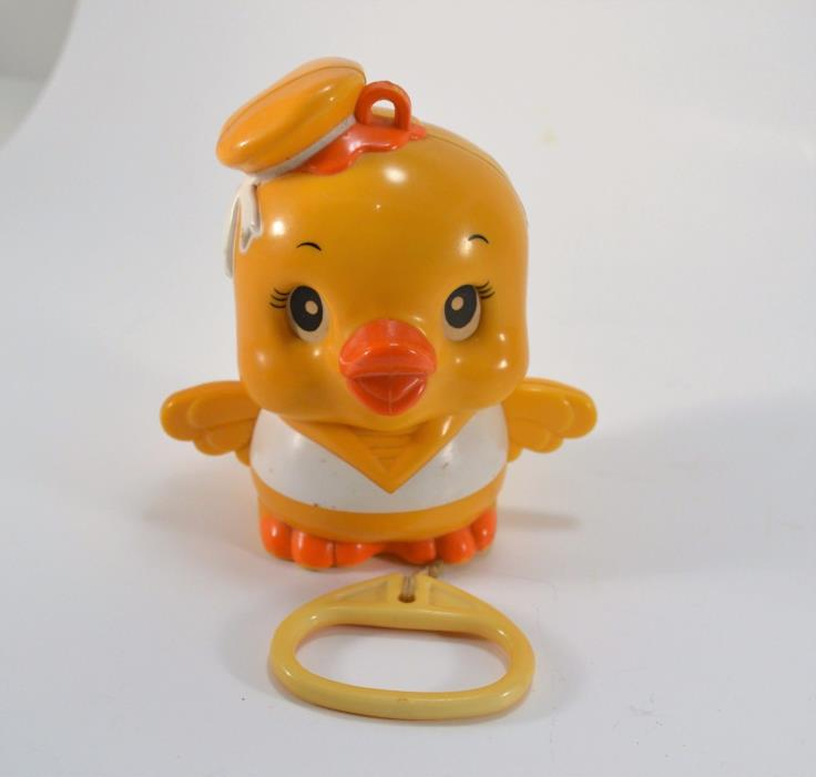 Old Vintage Duck Pull Musical Toy UK Design No. 986303 Camptown Races