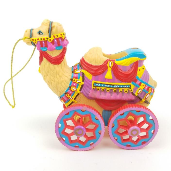 Vintage Kidcore Toy Camel on Wheels 1998 Kid Core Circus 5
