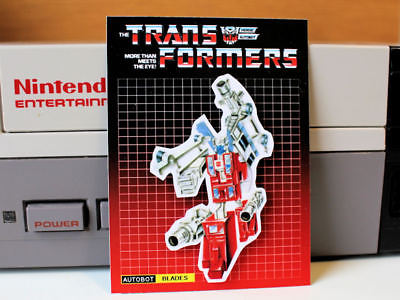Transformers G1 Autobot Blades retro 80's fridge art 4