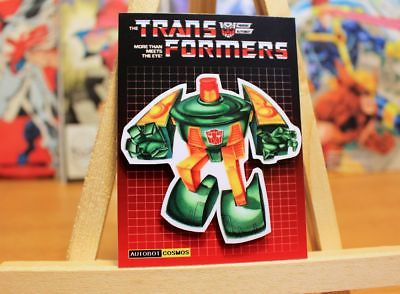 Transformers G1 Autobot Cosmo retro 80's fridge art 4