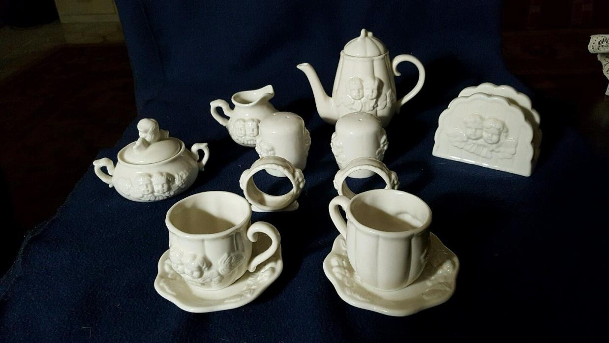 Children's Vintage Tea for Two Ceramic Tea Set  *22