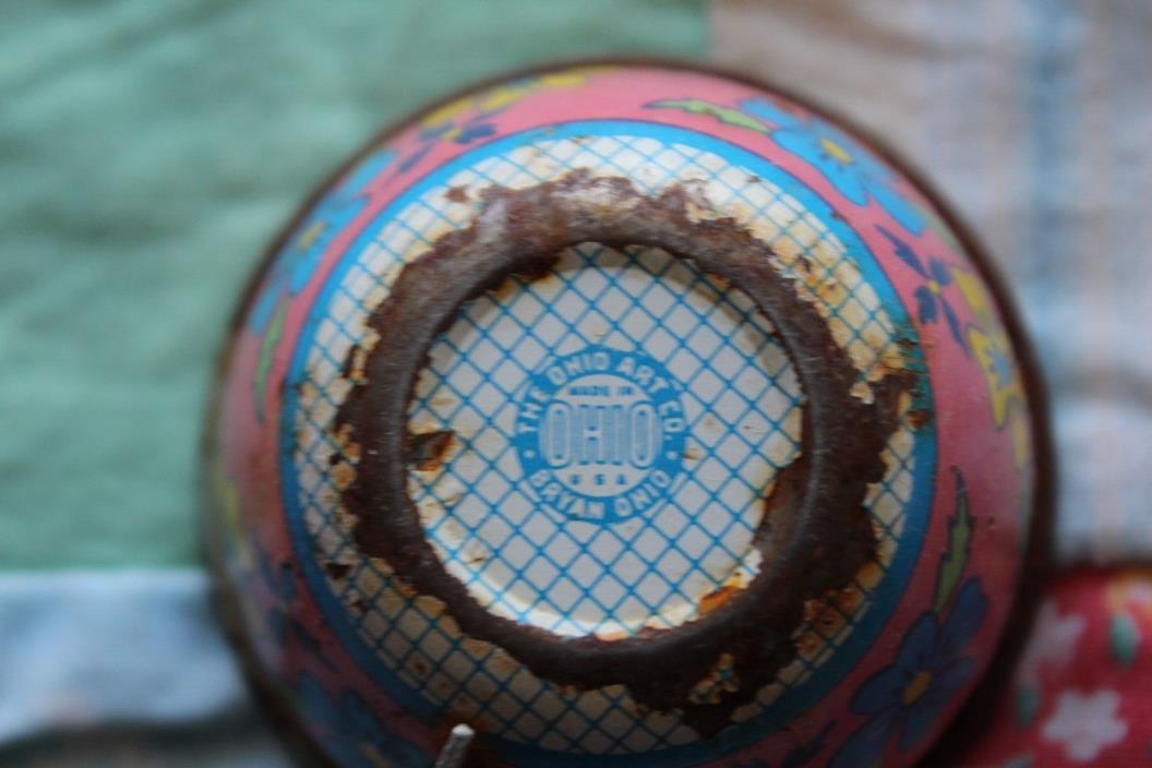 VINTAGE OHIO ART CHILD/DOLL SIZED TEA CUP