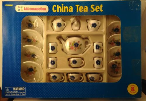 KID CONNECTION CHINA TEA SET # 10838   NEW!!!!