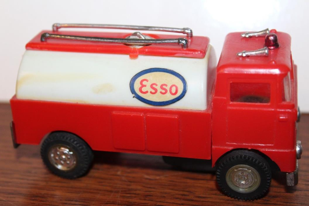 VERY NICE FRICTION POWERED CRAGSTAN ESSO TANKER TRUCK