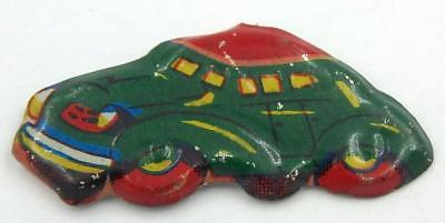 Early Japanese Novelty Pin-Tin Car-Prize in 1950's Punch Board