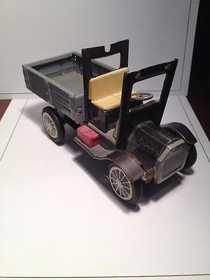Old toy tin truck ,vintage , Japan, Retro