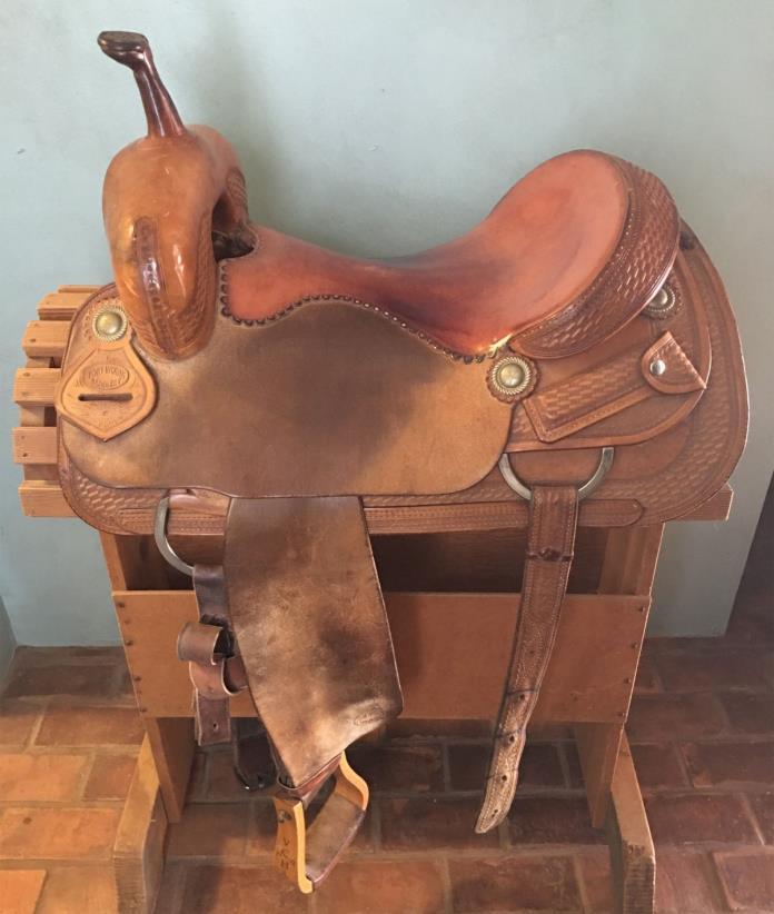 Cutting Saddle David Huey maker