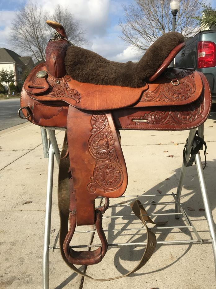 Circle Y Western Trail Saddle