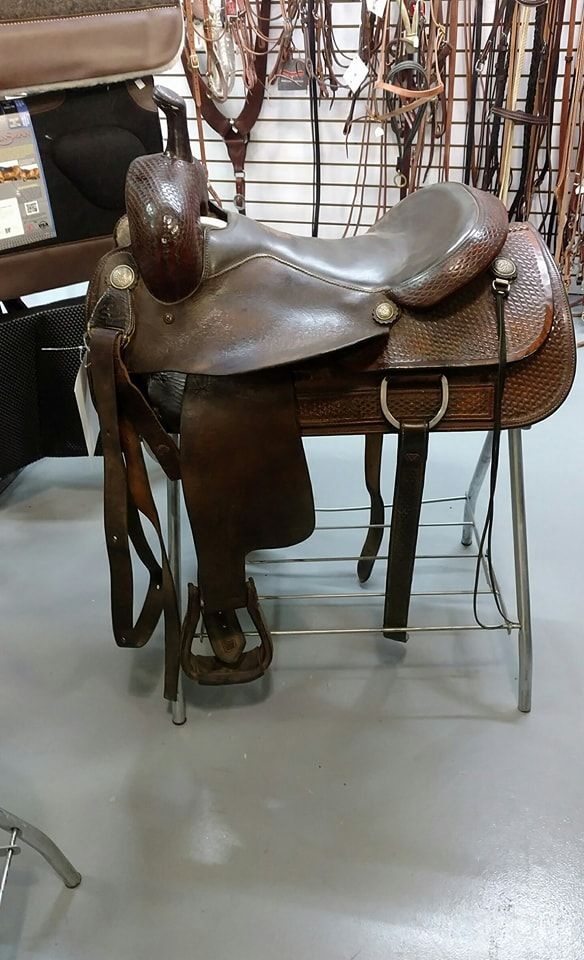 Star of Texas cutting saddle