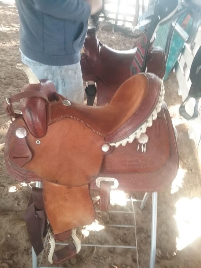 Billy Cook 15 12 inch Barrel racing or all purpose saddle