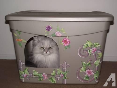 New Custom Designed Decorative Litter Boxes