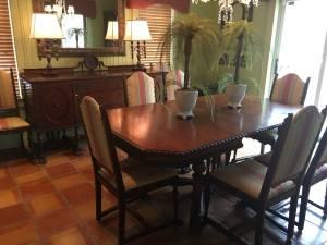 Antique Jacobean Dining Room Suite (Owensboro)