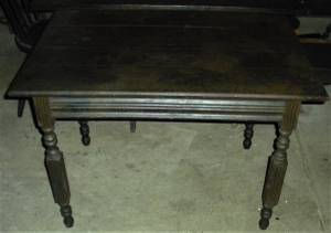 ANTIQUE c. 1880 TABLE FROM HINKLE'S PHARMACY COLUMBIA PA FOUNDED 1893