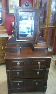 1880's - 1890's Rare Victorian Childs Walnut Dresser (1320 W. Kimberly Rd.