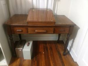 Antique Real Wood Office Desk