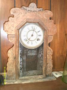 Antique clock (Davenport)